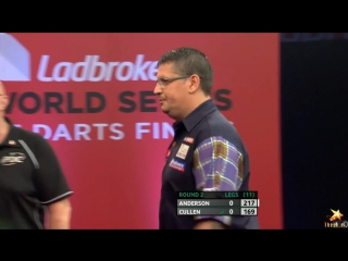 Gary Anderson vs Joe Cullen (PDC World Series of Darts Finals 2016 / Round 2)
