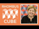 Make a Rhombus Cube Quilt the EASY Way with Jenny Doan of Missouri Star Video Tutorial