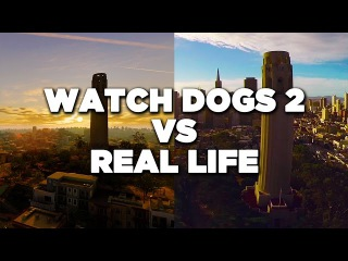 Watch Dogs 2 vs Real Life San Francisco