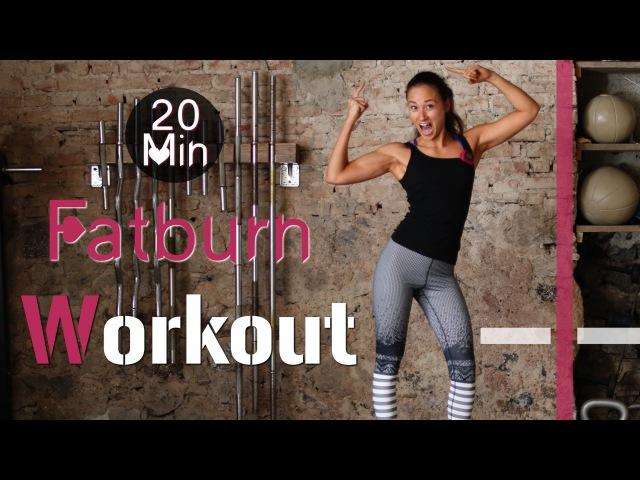 20 Min Hardcore Indoor Fatburn Workout 2 HIIT Fettverbrennung und Muskelaufbau garantiert