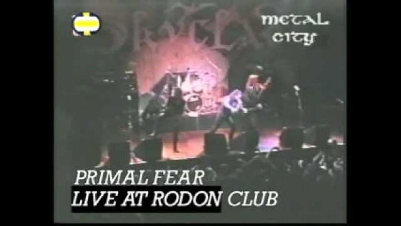 Primal Fear Live at Rodon Club 3 5 1998
