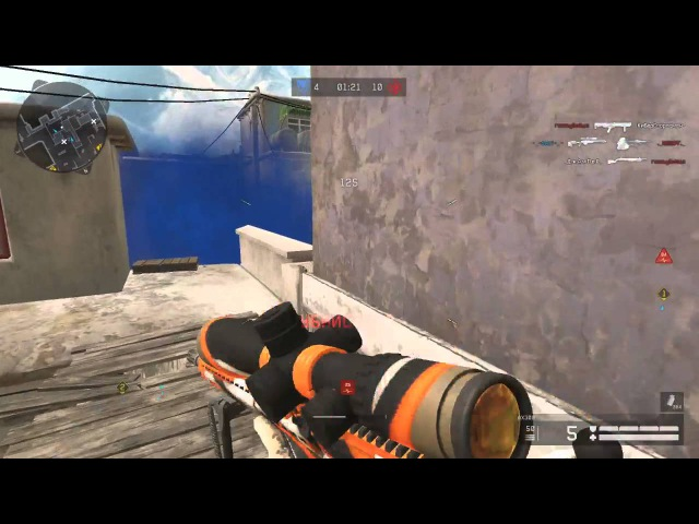 WarFace Ace Clutch 1vs2 AirBorn by fisty