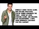 Big Time Rush - Like Nobody's Around (Full Version) Lyrics