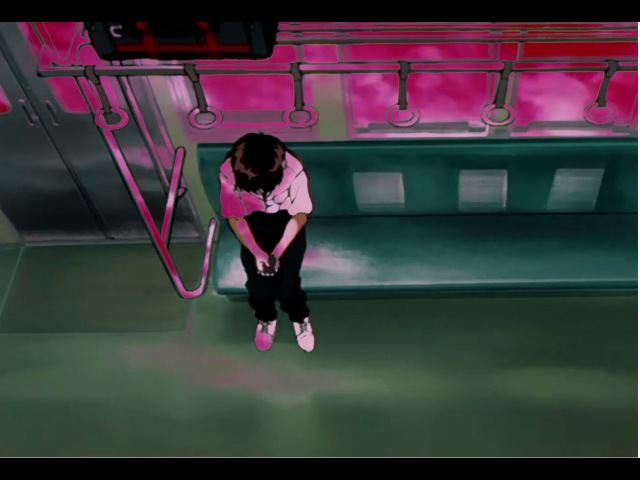 Shinji Listens To Vaporwave