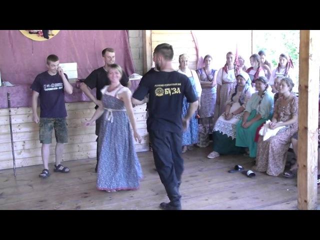 Русский пляс Бузники и клуб Основа из г Череповец