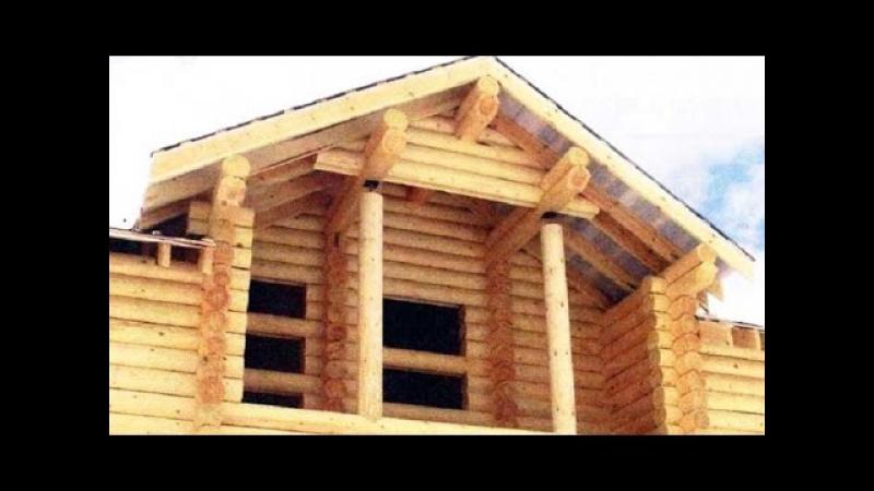 Дом из бревен бруса нормы осадки / Сруб брус осадка дома нормы / Draft log timber