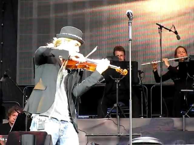 David Garrett - Ungarischer Tanz Nr. 2 Brahms - Ludwigslust 17.06.2011