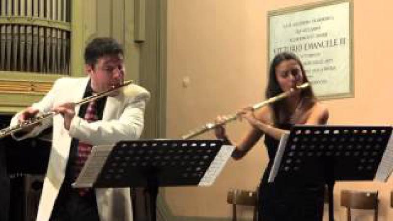 F Doppler Duettino Ungherese Op 36 per 2 flauti e pianoforte
