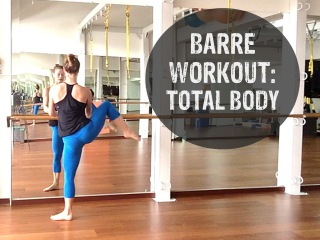 Barre Workout Video - FREE 40 Minute Barre Workout Video At Home