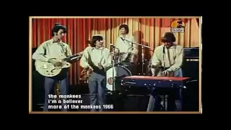 The Monkees - I'm a Believer, 1966 (HQ Stereo)