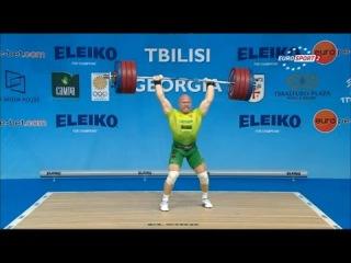 2015 European Weightlifting Championships Men's 94 kg \ Тяжелая атлетика Чемпионат Европы