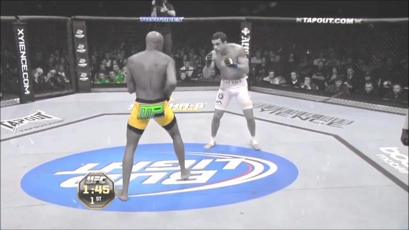 Anderson Silva vs Vitor Belfort BY GK