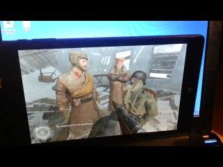 Qumo Vega 8009w тестирование игры Call of Duty 2