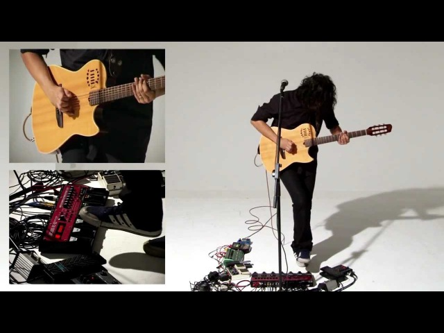 With or Without You U2 Randolf Arriola Live Looping w Boss RC 50