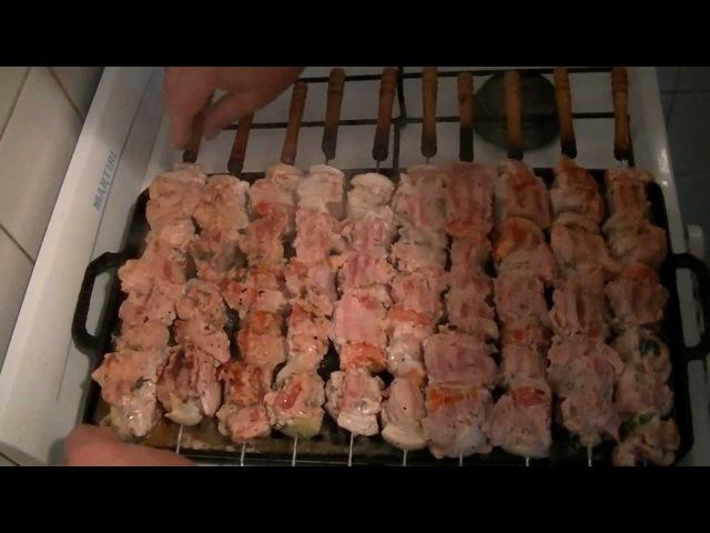 Домашняя Кухня - Как приготовить шашлык в квартире. Leonid Timo