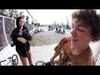 Stevie Churchill @ The Barcelona Dub BMX Jam