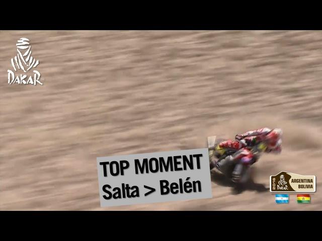 Stage Etapa Etape 8 Paulo Gon alves crashes and gets back up Salta Belen
