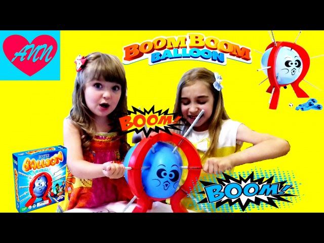 БУМ БУМ БАЛЛУН ЧЕЛЛЕНДЖ - Лопни кульку Челлендж / Boom Boom Balloon Challenge