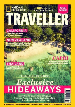 National Geographic Traveller UK July-August 2016