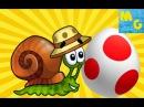 Улитка Боб нашел яйцо динозавра! 1серия мультик игра
