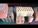 Clay bricks made by Yaxin brick machine