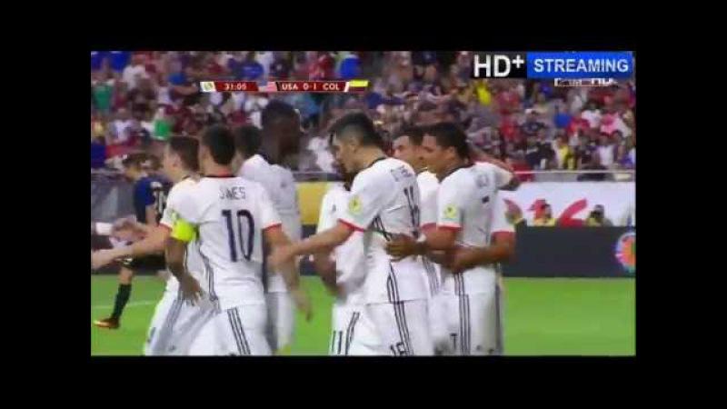Copa America 2016 за 3 е место США Колумбия 0 1 26 06 2016