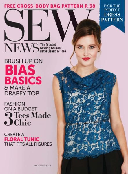 Sew News - August-September 2016
