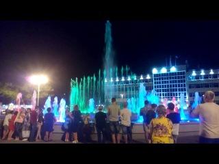 Танцующий фонтан,  г. Анапа