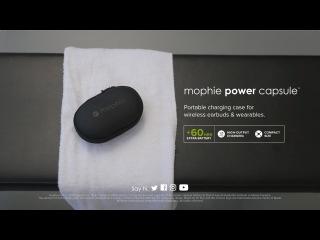 Mophie Power Capsule: зарядная капсула для носимой электроники