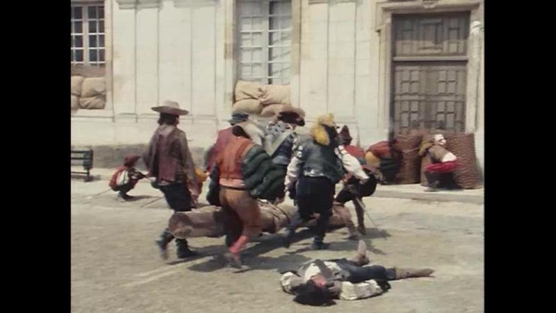 Нападение на французский замок банды наёмников Прекрасные господа из Буа Доре