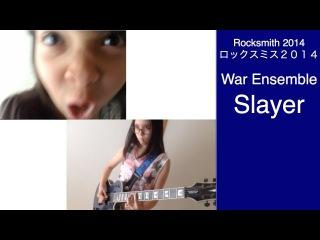 Audrey & Kate Play Rocksmith #509 - War Ensemble - Slayer ロックスミス