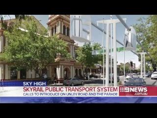 🎥 SkyWay в Анли, Австралия | Род Хук предлагает властям Анли строить SkyWay вместо трамвайных линий