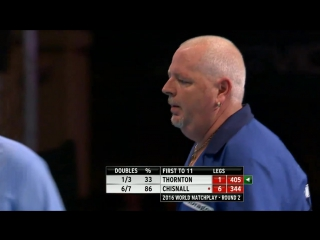Robert Thornton v Dave Chisnall (PDC World Matchplay 2016 / Round 2)