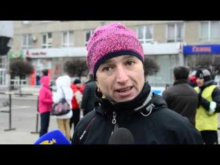 В Івано-Франківську проходить зимовий чемпіонат України зі спортивної ходьби (відео+фото)