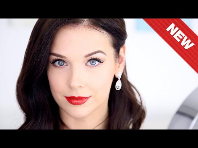 Вечерний макияж Диты Фон Тиз бюджетной косметикой
