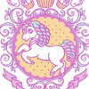 Marshmallow Unicorn. Авторские украшения.