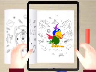 Инструкция  DEVAR kids - живые 3D раскраски-сказки