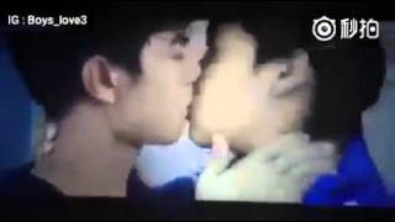 Waterboyy the movie Kiss scene Ngern x Beam