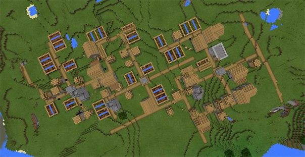 сид на много деревень в майнкрафт пэ 0.14.1 #8