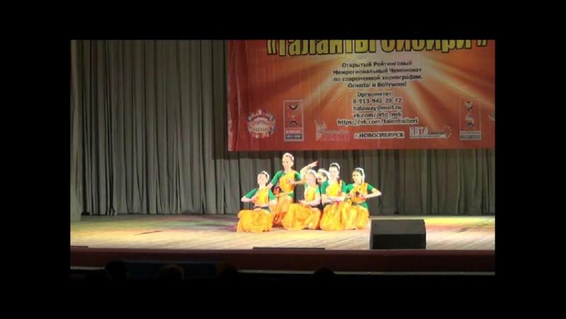 Bharatha Vedamuga Стилизация индийского танца