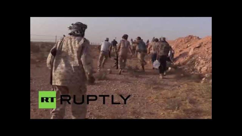 Ливия Триполи при поддержке боевиков захватил Исламского Государства лагерь возле Сирта.