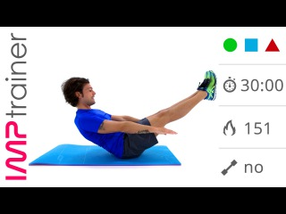 30 Minuti - Core Stability & Addominali - Esercizi In Piedi E A Terra