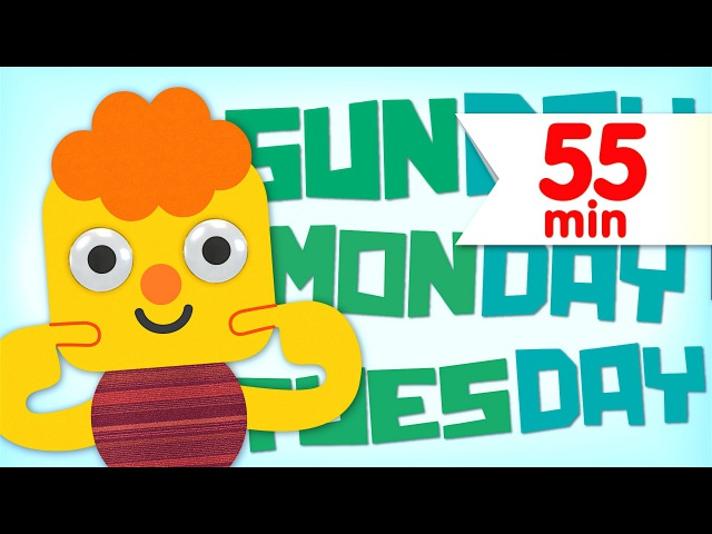 Days Of The Week More Nursery Rhymes Collection Super Simple Songs