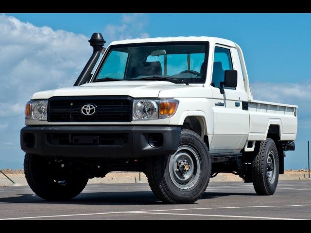 Toyota Land Cruiser 79 Single Cabin - 4.2L Diesel - 3 seater - LHD