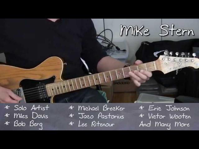 Mike Stern - Guitar Masterclass 2