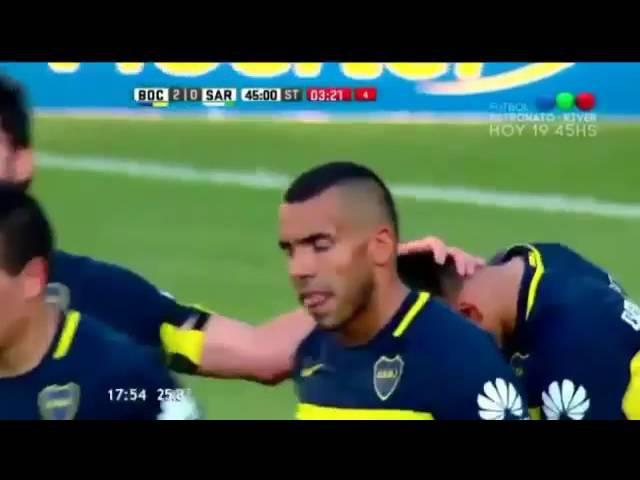 Boca Juniors vs Sarmiento de Junín 2 0 Primera División Resumen Completo