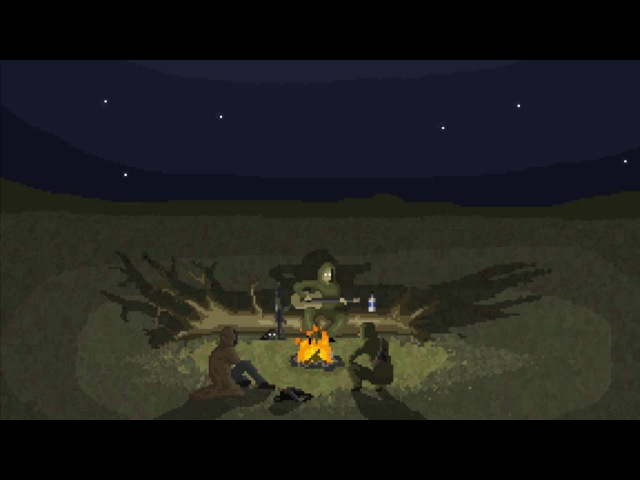 S T A L K E R Campfire song pixel animation