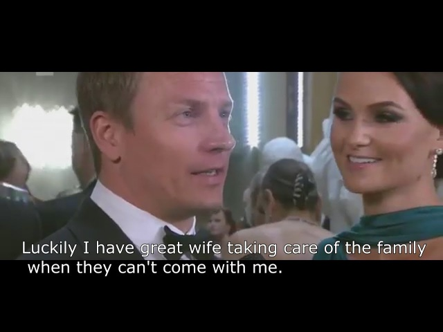 Kimi Minttu at Finland's 100 Year Anniversary With Subtitles Mika Hakkinen Funny interview