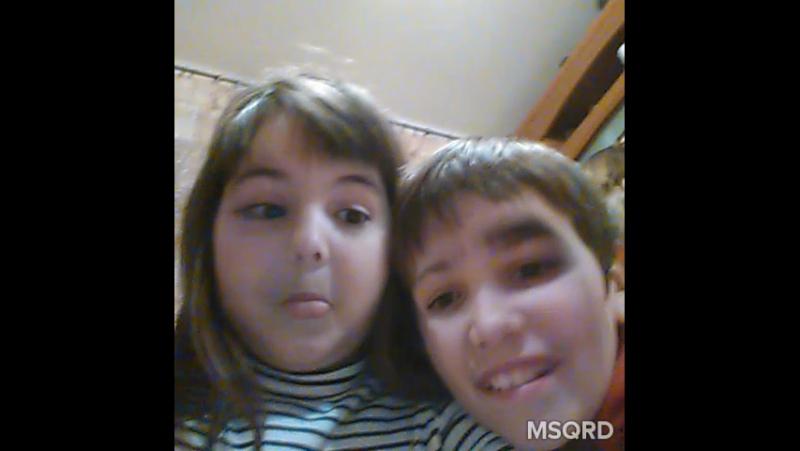 я з братом помінялась лицями