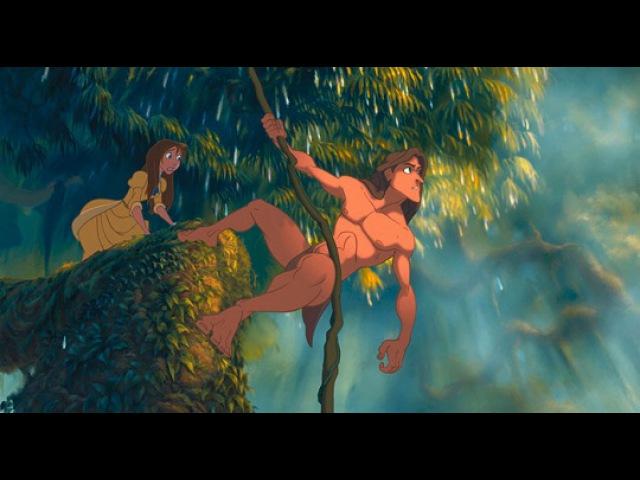 Тарзан Tarzan 1999 трейлер ENG